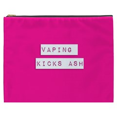 Vaping Kicks Ash Pink  Cosmetic Bag (xxxl) by OCDesignss
