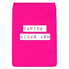 Vaping Kicks Ash Pink  Removable Flap Cover (large) by OCDesignss