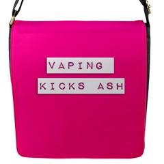 Vaping Kicks Ash Pink  Removable Flap Cover (small) by OCDesignss