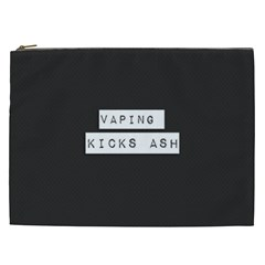 Vaping Kicks Ash Blk&wht  Cosmetic Bag (xxl) by OCDesignss