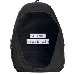 Vaping Kicks Ash Blk&wht  Backpack Bag by OCDesignss