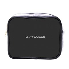 Diva Licious  Mini Travel Toiletry Bag (one Side) by OCDesignss