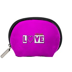 Love Yo self  Accessory Pouch (small) by OCDesignss