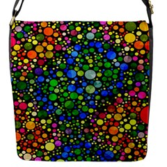 Bling Skiddles Flap Closure Messenger Bag (small)