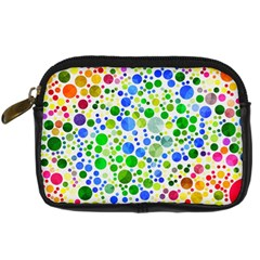 Neon Skiddles Digital Camera Leather Case