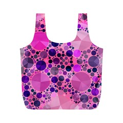 Pink Bling  Reusable Bag (m) by OCDesignss