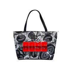 Like A Boss Sassy Lips  Large Shoulder Bag by OCDesignss