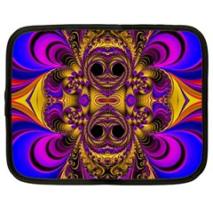 Crazy Abstract  Netbook Sleeve (large) by OCDesignss