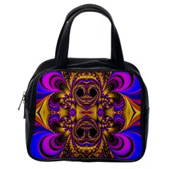 Crazy Abstract  Classic Handbag (one Side)