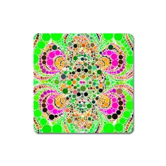 Florescent Abstract  Magnet (square) by OCDesignss