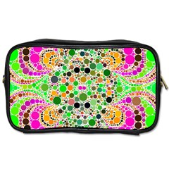 Florescent Abstract  Travel Toiletry Bag (two Sides) by OCDesignss