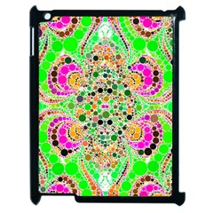 Florescent Abstract  Apple Ipad 2 Case (black) by OCDesignss