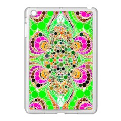 Florescent Abstract  Apple Ipad Mini Case (white) by OCDesignss