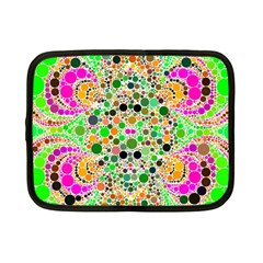 Florescent Abstract  Netbook Sleeve (small) by OCDesignss