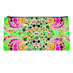 Florescent Abstract  Pencil Case by OCDesignss