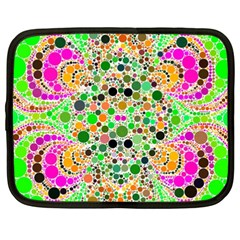 Florescent Abstract  Netbook Sleeve (xxl) by OCDesignss