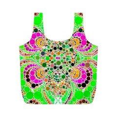 Florescent Abstract  Reusable Bag (m) by OCDesignss
