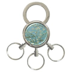 Vincent Van Gogh, Almond Blossom 3 Ring Key Chain by Oldmasters