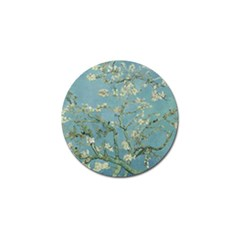 Vincent Van Gogh, Almond Blossom Golf Ball Marker 4 Pack by Oldmasters