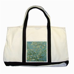 Vincent Van Gogh, Almond Blossom Two Toned Tote Bag by Oldmasters