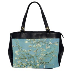 Vincent Van Gogh, Almond Blossom Oversize Office Handbag (two Sides) by Oldmasters