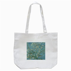 Vincent Van Gogh, Almond Blossom Tote Bag (white) by Oldmasters