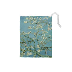 Vincent Van Gogh, Almond Blossom Drawstring Pouch (small) by Oldmasters