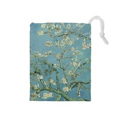Vincent Van Gogh, Almond Blossom Drawstring Pouch (medium) by Oldmasters