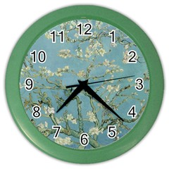 Vincent Van Gogh, Almond Blossom Wall Clock (color)