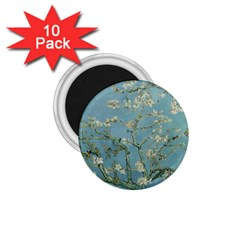 Vincent Van Gogh, Almond Blossom 1 75  Button Magnet (10 Pack) by Oldmasters