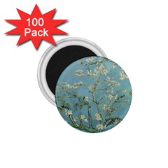 Vincent Van Gogh, Almond Blossom 1 75  Button Magnet (100 Pack) by Oldmasters