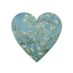 Vincent Van Gogh, Almond Blossom Magnet (heart) by Oldmasters