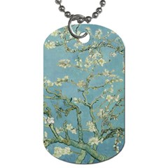 Vincent Van Gogh, Almond Blossom Dog Tag (one Sided) by Oldmasters