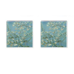 Vincent Van Gogh, Almond Blossom Cufflinks (square) by Oldmasters