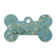 Vincent Van Gogh, Almond Blossom Dog Tag Bone (one Sided) by Oldmasters
