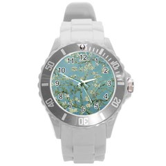 Vincent Van Gogh, Almond Blossom Plastic Sport Watch (large) by Oldmasters