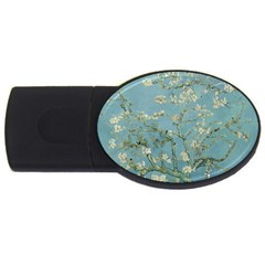 Vincent Van Gogh, Almond Blossom 2gb Usb Flash Drive (oval) by Oldmasters
