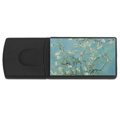 Vincent Van Gogh, Almond Blossom 4gb Usb Flash Drive (rectangle) by Oldmasters