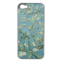 Vincent Van Gogh, Almond Blossom Apple Iphone 5 Case (silver) by Oldmasters