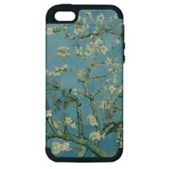 Vincent Van Gogh, Almond Blossom Apple Iphone 5 Hardshell Case (pc+silicone) by Oldmasters
