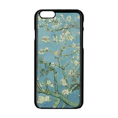 Vincent Van Gogh, Almond Blossom Apple Iphone 6 Black Enamel Case by Oldmasters