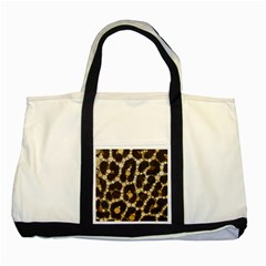 Cheetah Abstract  Two Toned Tote Bag by OCDesignss