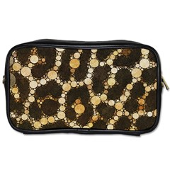 Cheetah Abstract  Travel Toiletry Bag (two Sides) by OCDesignss