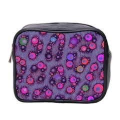 Florescent Cheetah Mini Travel Toiletry Bag (two Sides) by OCDesignss