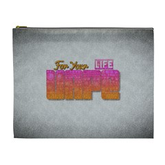 Vape For Your Life Abstract  Cosmetic Bag (xl) by OCDesignss