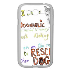 D0gaholic Samsung Galaxy Grand Duos I9082 Case (white)