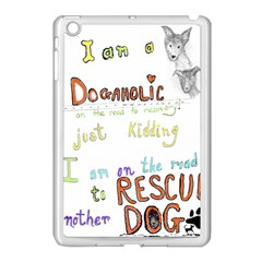 D0gaholic Apple Ipad Mini Case (white) by Contest1918526