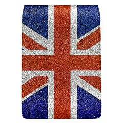 England Flag Grunge Style Print Removable Flap Cover (large) by dflcprints