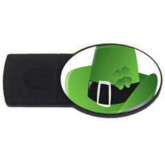 Irish Shamrock Hat152049 640 4gb Usb Flash Drive (oval)