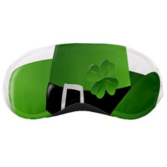 Irish Shamrock Hat152049 640 Sleeping Mask by Colorfulart23